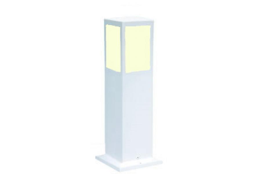 iluminacao jardim balizadorBL 204 Poste Balizador Retangular  Poste
