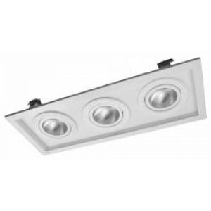 EB170/3 Luminária Spot de Módulo Embutir