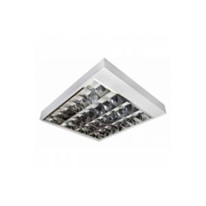 FL 209 Luminária sobr aletas aluminio 4 x 16w