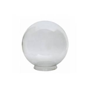 Globo de vidro leitoso ou transparente
